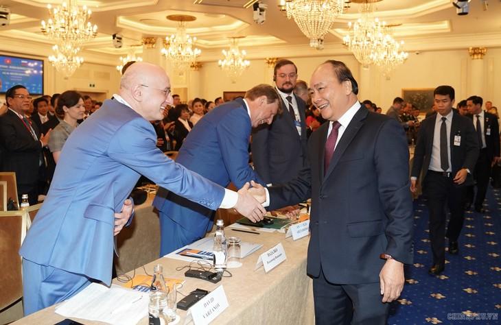 Ausschöpfung des Zusammenarbeitspotenzials der Unternehmen aus Vietnam und Russland - ảnh 1