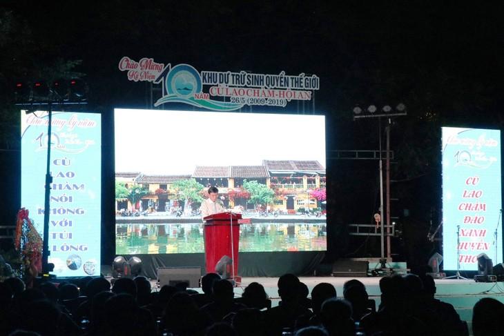 10. Jahrestag der Anerkennung Cu Lao Cham-Hoi An als  Biosphärenreservat - ảnh 1