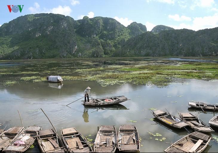 Entdecken die Naturschönheit des 9. Schutzgebietes Van Long- Ramsar in Vietnam - ảnh 2