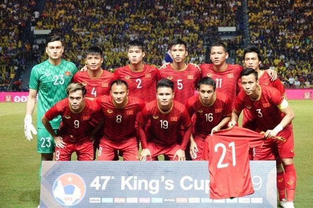 Vietnam steht im Finale des King' Cup in Thailand - ảnh 1