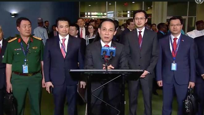 Vietnam setzt sich bei den Aufgaben des nicht ständigen Mitglieds des Weltsicherheitsrates ein - ảnh 1