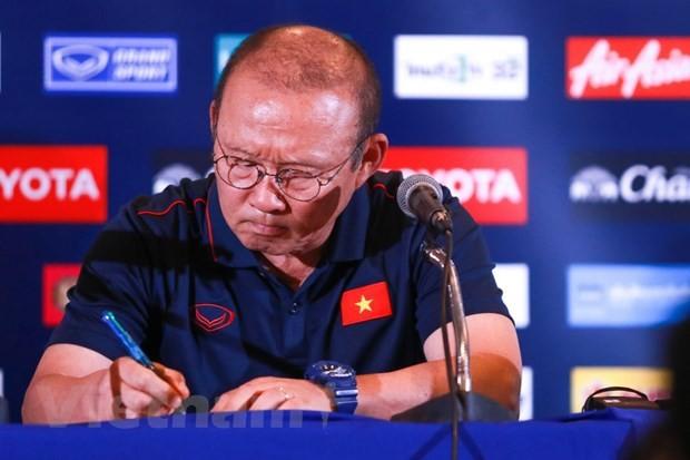Park Hang Seo will mit der vietnamesischen Fußballmannschaft langfristig planen - ảnh 1