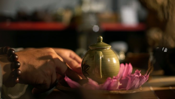 Aroma von Lotusblüten im Tee - ảnh 28