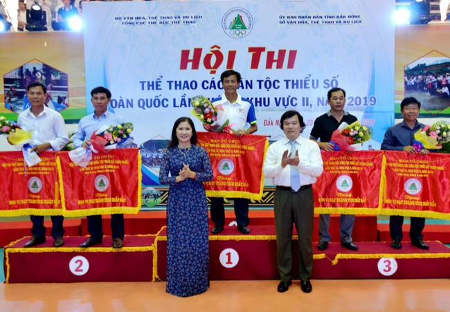 Landesweiter Sportwettbewerb der Volksgruppen in Vietnam - ảnh 1