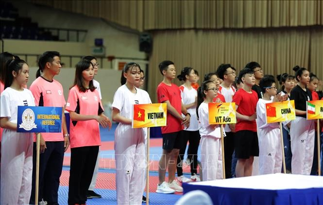 Eröffnung der Taekwondo-Asienmeisterschaft 2019 - ảnh 1