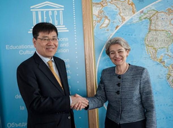 ທ່ານ Lee Byong-hyun ໄດ້ຮັບການເລືອກຕັ້ງເປັນປະທານສະພາບໍລິຫານງານ UNESCO - ảnh 1