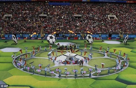 WORLD CUP 2018: ພິທີໄຂຢ່າງຟົດຟື້ນ - ảnh 1
