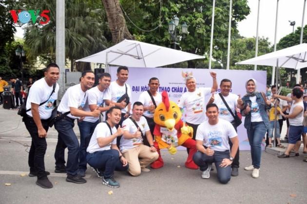 ບັນຍາກາດ ASIAD 2018 – Palembang, ອິນໂດເນເຊຍ ຢູ່ ຮ່າໂນ້ຍ - ảnh 1