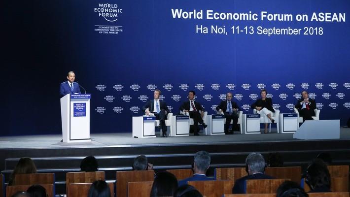 WEF ASEAN 2018 ແລະ ຂີດໝາຍຫວຽດນາມ - ảnh 1