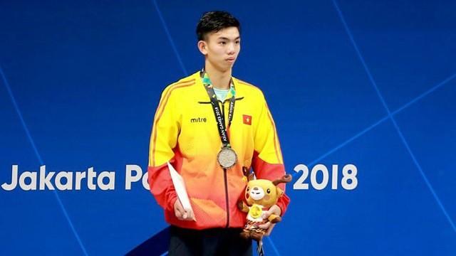 Olympic ໜຸ່ມ 2018: ນັກກິລາລອຍນ້ຳ ຫງວຽນຮຸຍຮ່ວາງ ຄວ້າໄດ້ຫຼຽນຄຳທີ 2 ໃຫ້ແກ່ຫວຽດນາມ - ảnh 1