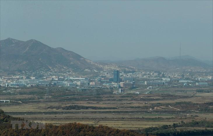 ບັນດາວິສາຫະກິດສ.ເກົາຫຼີເກ້ຍກ່ອມອາເມລິກາສະໜັບສະໜູນເປີດປະຕູເຂດອຸດສາຫະກຳ Kaesong ຄືນໃໝ່ - ảnh 1