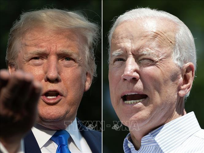 ອະດີດຮອງປະທານາທິບໍດີ Biden ມີຄະແນນນຳໜ້າທ່ານປະທານາທິບໍດີ Trump ໃນການຢັ່ງຫາງສຽງ - ảnh 1