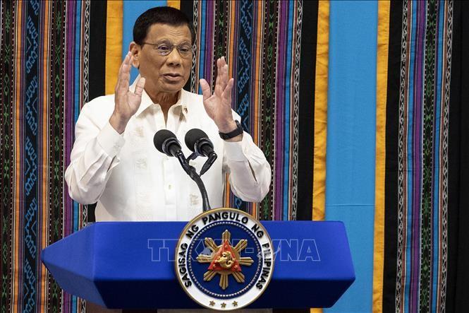 ປະທານາທິບໍດີ  Duterte ບໍ່ອະນຸຍາດໃຫ້ອາເມລິກາຜັນຂະຫຍາຍລູກສອນໄຟຢູ່ຟີລິບປິນ - ảnh 1