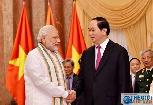 베트남-인도 전반적 전략 협력 관계 촉진 - ảnh 1