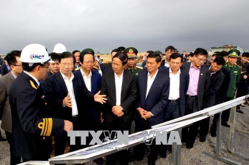 Trinh Dinh Dung 부국무 총리, 하이퐁시 업무차 방문 - ảnh 1