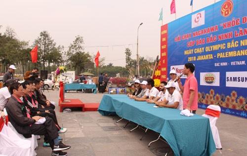 Asiad 18호응 Bac Ninh 올림픽 달리기 날 - ảnh 1