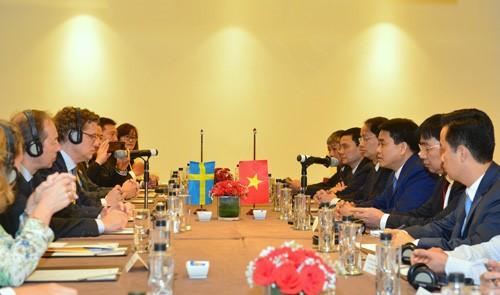 베트남과 스웨덴, 경제와 무역 협력촉진 - ảnh 1