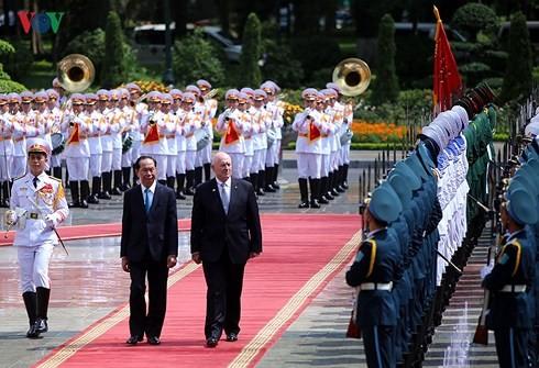 발전 분야 강화 정신으로  베트남 – 호주 전략 파트너 관계 심화 증진 - ảnh 1