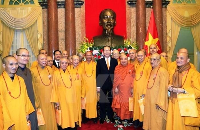 베트남 불교회, 국가 건설 및 개발에 참여하기 위한 잠재력 발휘 - ảnh 1