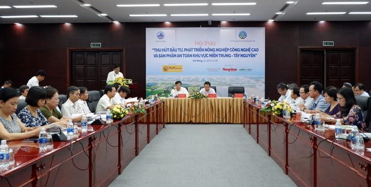 중부 지방 – Tay Nguyen 하이 테크 농업개발 투자유치 - ảnh 1