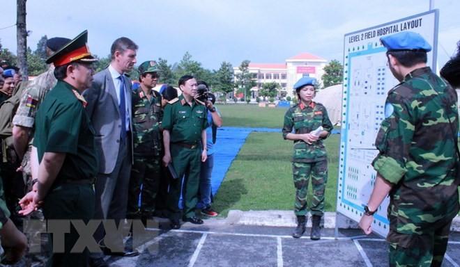 국제연합, 평화유지 부문에 베트남의 적극적인 참석을 높이 평가 - ảnh 1