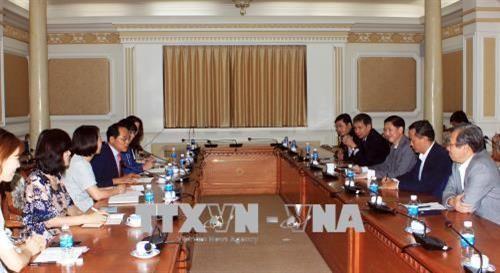 한국 전라북도,  Ho Chi Minh시와 우호관계 설립희망 - ảnh 1