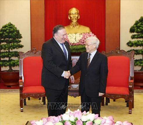 베트남 – 미국 전면적인 협력관계 강화 - ảnh 1