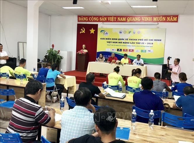 2018년 제25차 오픈 베트남 Ho Chi Minh시 국제 육상대회, 선수 500명 이상 참가 - ảnh 1