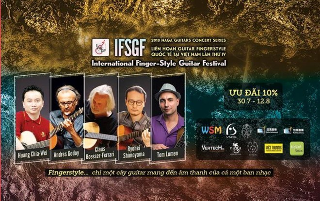 2018년 국제  핑거스타일  기타 페스티벌 (IFSGF 2018) - ảnh 1