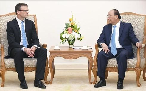 Nguyen Xuan Phuc총리, 에스토니아 외교장관 접견 - ảnh 1