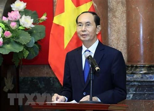 라오스, 9월26일 – 27일 이틀간 Tran Dai Quang 국가주석 추모 기간 통보 - ảnh 1