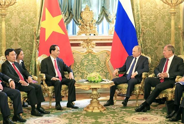 Tran Dai Quang주석과 베트남 위상 제고에 기여한 자취 - ảnh 2