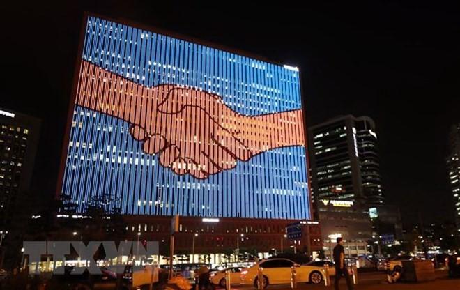 한국–조선:  2007년 남북 정상회담 기념식 처음으로 개최 - ảnh 1