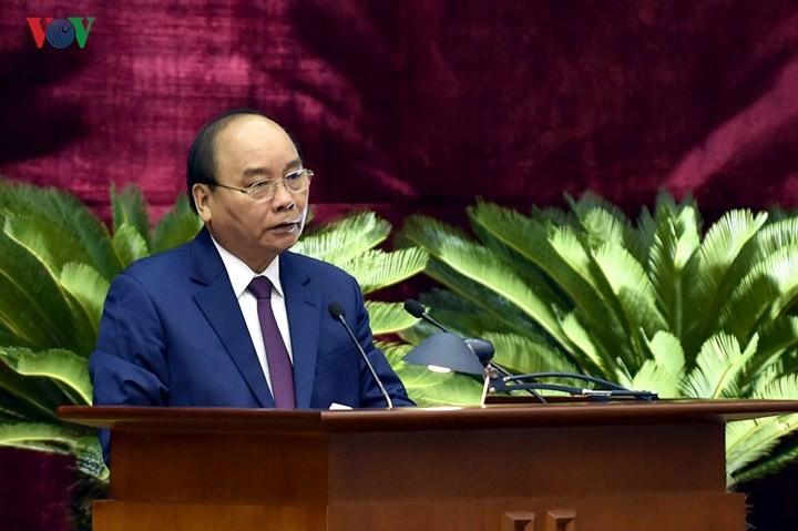주요 국가 문제 결정의 책임을 지는 12기 베트남 공산당 중앙집행위원회의 8차 회의 - ảnh 2