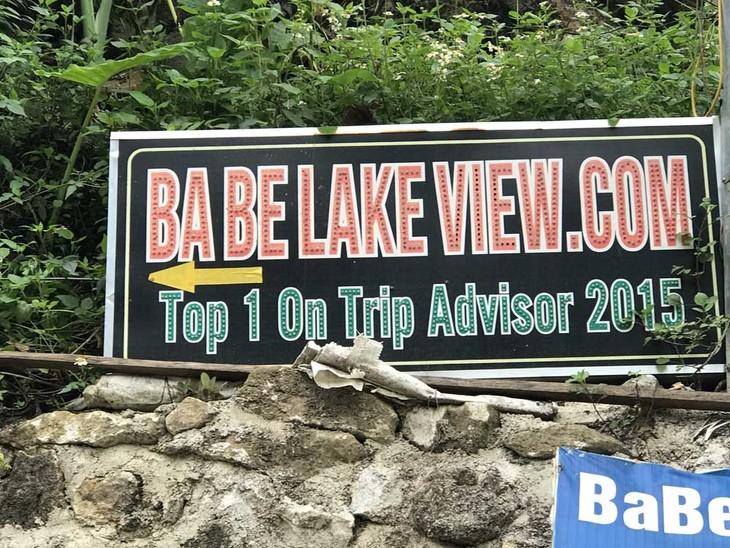 바베 호수 - 이상적인 관광지 - ảnh 2