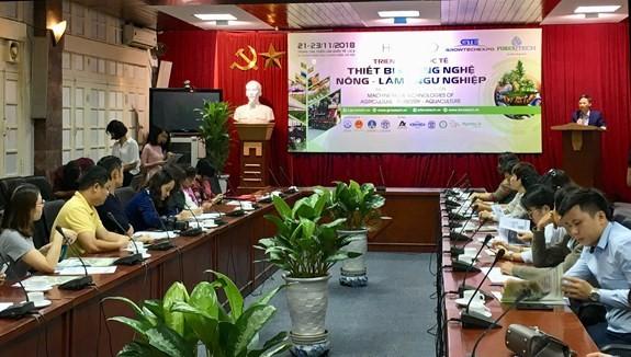 많은 유명 해외기업들, 2018년 Vietnam Growtech 전시회 참가 예정 - ảnh 1