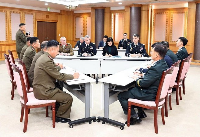 JSA무장해제에 관한 한국 – 조선 – 유엔 삼자회의 - ảnh 1