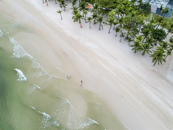 Bai Kem 해안, 2018년 세계 가장 아름다운 100대 해안에 포함 - ảnh 1