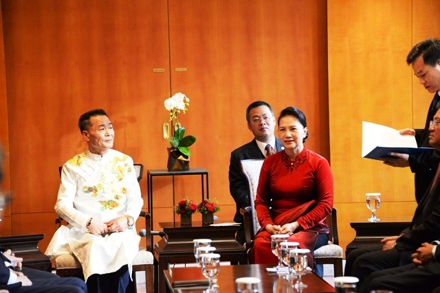 Nguyen Thi Kim Ngan 국회의장, 한국 서울에 도착 - ảnh 1