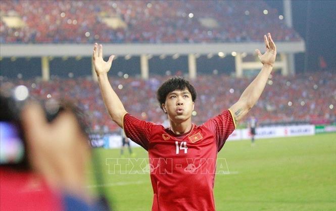 2018년 AFF Suzuki Cup, 베트남 축구팀의 결승전 진출, 아시아 통신 극찬 - ảnh 1
