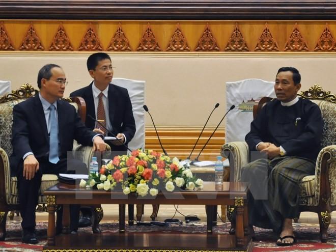 Vietnam wants to strengthen comprehensive cooperation with Myanmar - ảnh 1