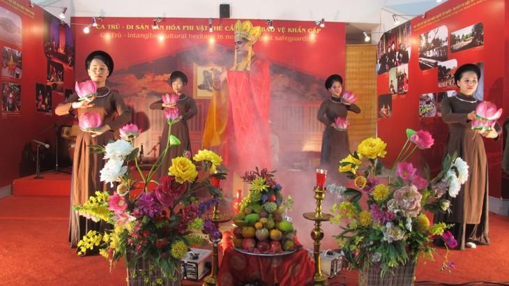 "Traditional folk music program ""Ha Thanh, 36 Old Quarters""  - ảnh 1"