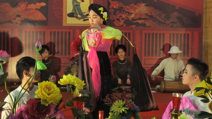 "Traditional folk music program ""Ha Thanh, 36 Old Quarters""  - ảnh 3"