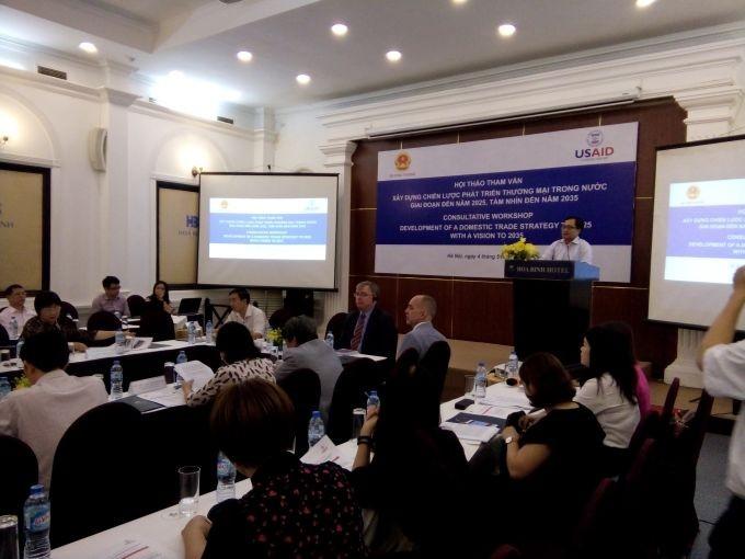 Vietnam busca medidas para impulsar el comercio interno - ảnh 1