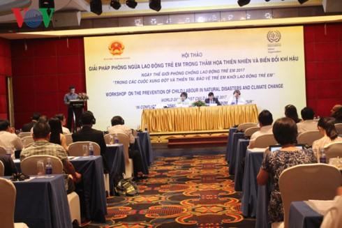 Vietnam intensificará la protección infantil ante el cambio climático - ảnh 1