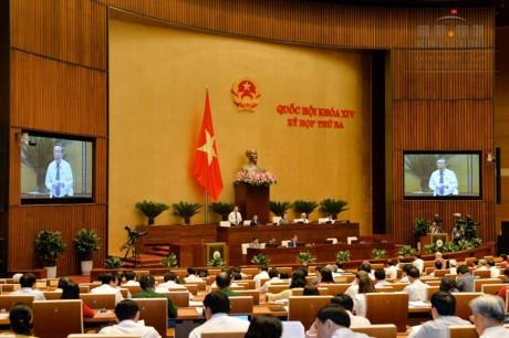 Prosigue agenda del tercer periodo de sesiones de la Asamblea Nacional de Vietnam - ảnh 1