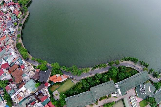 Hanoi abrirá un nuevo espacio peatonal cerca del lago del Oeste - ảnh 1