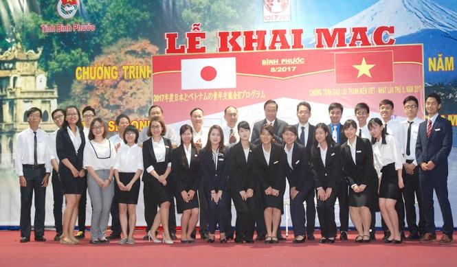 Celebran el segundo intercambio juvenil Vietnam-Japón en Binh Phuoc - ảnh 1