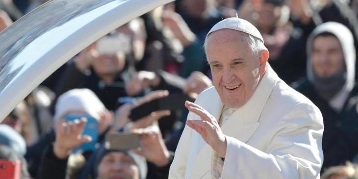 El Papa pide una paz estable y duradera en Colombia - ảnh 1