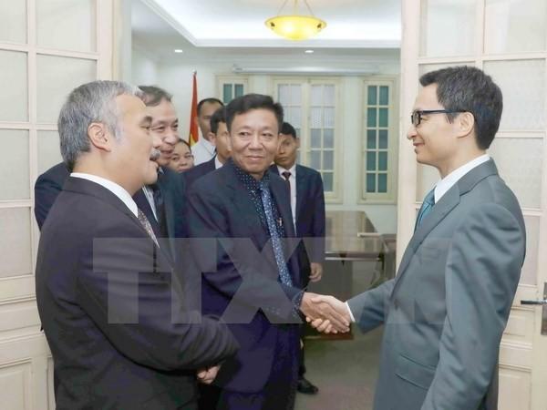Vietnam afirma su apoyo a la colaboración en comunicación con Camboya - ảnh 1